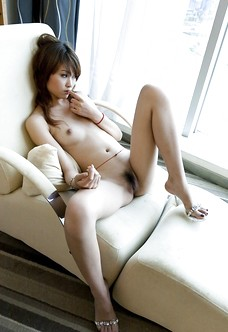 Hairy asian beauty Lavinia Chan