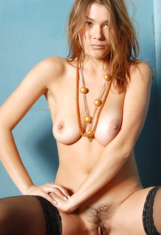 Gorgeous unshaved beauty Pandea